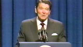 Reagan Comments on ET Alien Threat