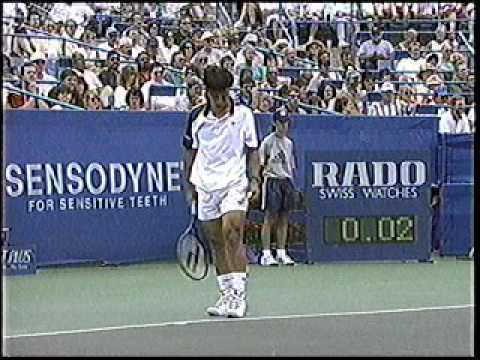 1996 Cincy Agassi Chang Final Harry Connick Jr on Leno