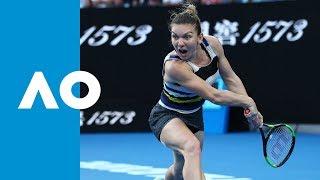 Simona Halep v Serena Williams second set highlights (4R) | Australian Open 2019 Video