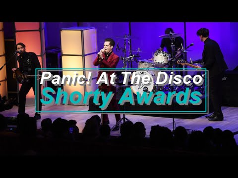 Panic! At The Disco - Miss Jackson/Hallelujah (Live at Shorty Awards)(Full Performance)