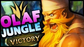 Season 10 Olaf is OP AF! How do you lose on this champ?! - League of Legends