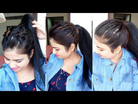 EASY Everyday Ponytail Hairstyles For College,School, Work | Latest Ponytail Hairstyle 2019 thumbnail