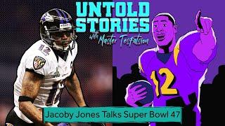Jacoby Jones Talks Ravens' Super Bowl Run   Untold Stories