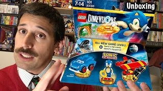 Sonic Lego Dimensions Unboxing and (gulp) Building