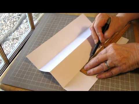 Make a Super-Quick No-Sew Folding Journal
