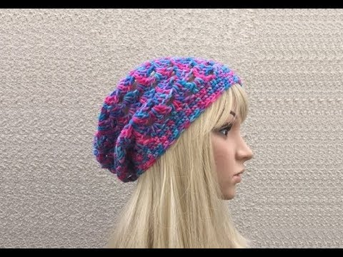 How to Crochet a Hat Pattern #19 ? by ThePatterfamily - YouTube