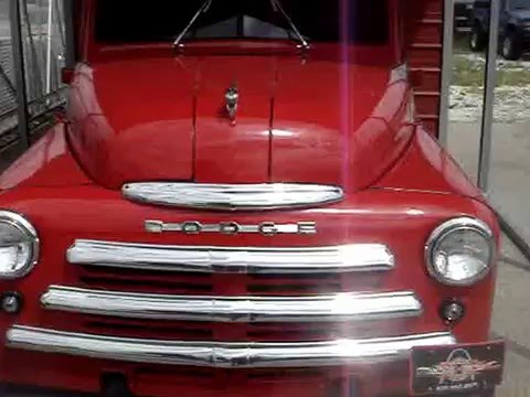 1949 DODGE SERIES B1 PICKUP TRUCK - RARE TRUCK NOW NICELY RESTORED.