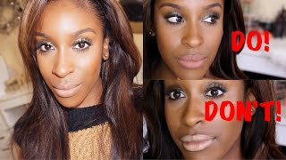 Top NUDE Lips for WOC//DO