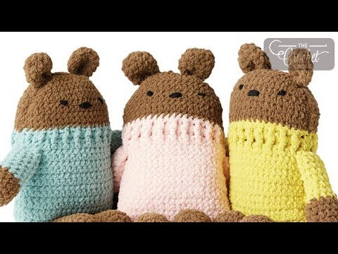 1b0d55501 Crochet Square Bear - YouTube