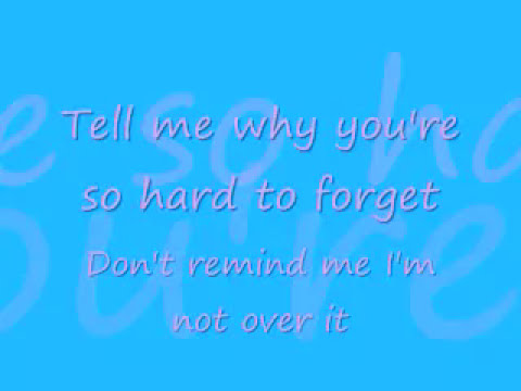 A Little Too Not Over You by David Archuleta with lyrics