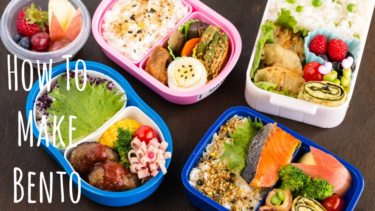 172ab3ba3e5d Back to School Easy Bento Box Ideas • Just One Cookbook