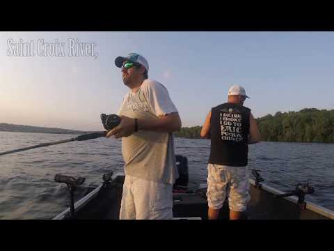 Fishing Walleyes On The Saint Croix River