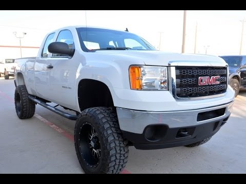 2012 gmc sierra 2500hd extended cab lifted 6 0l youtube. Black Bedroom Furniture Sets. Home Design Ideas