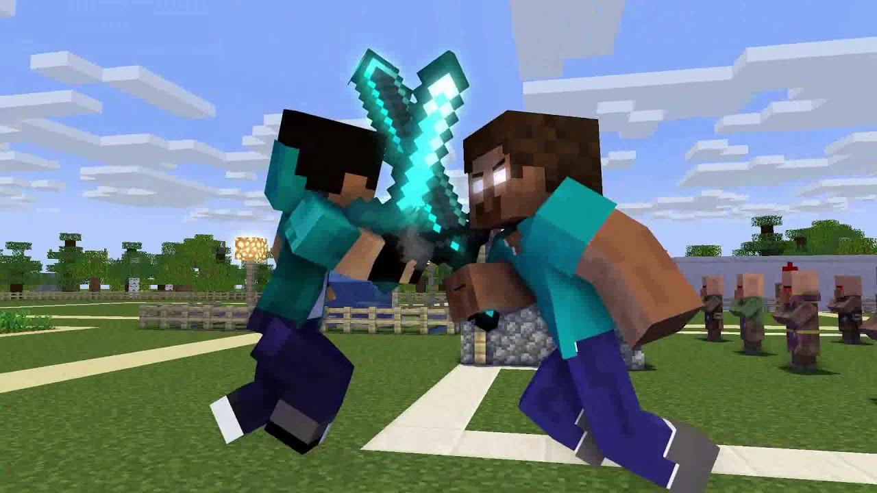 Herobrine life Episode 1 - Minecraft animation
