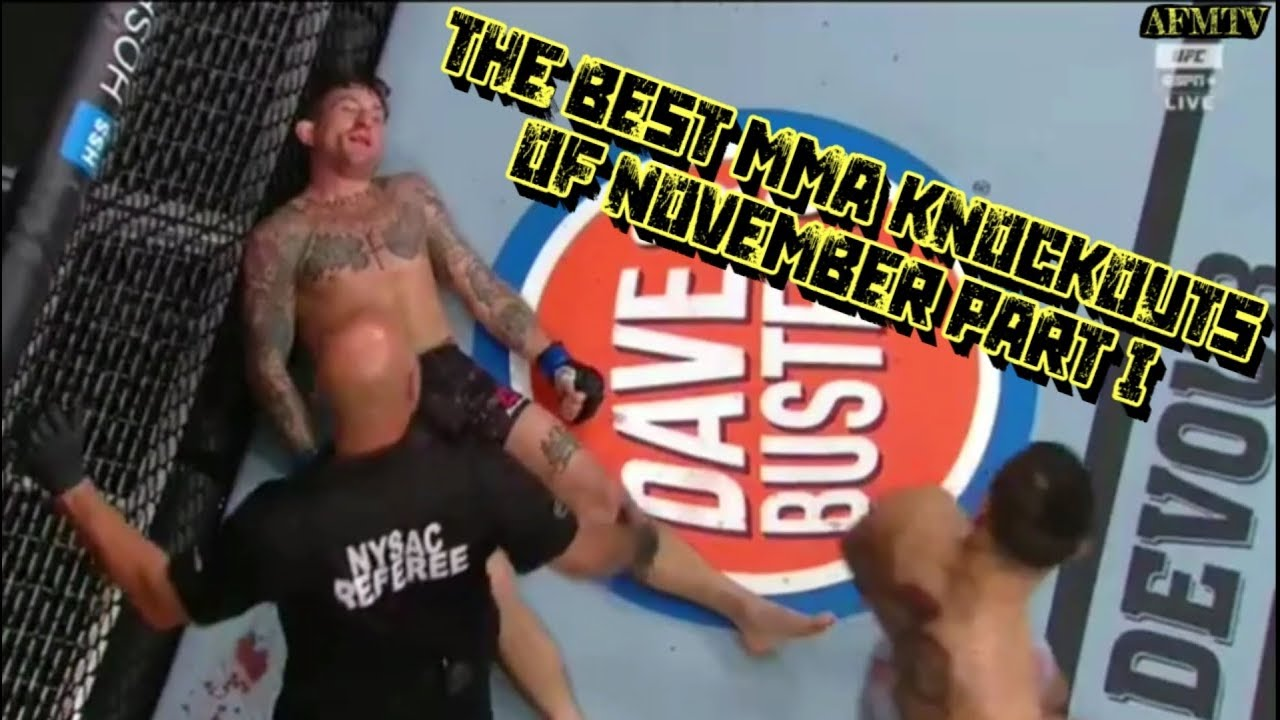 The Best MMA Knockouts of November Part I