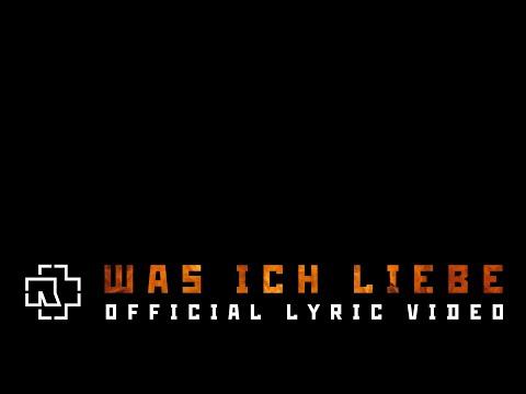 Rammstein - Was Ich Liebe (Official Lyric Video)