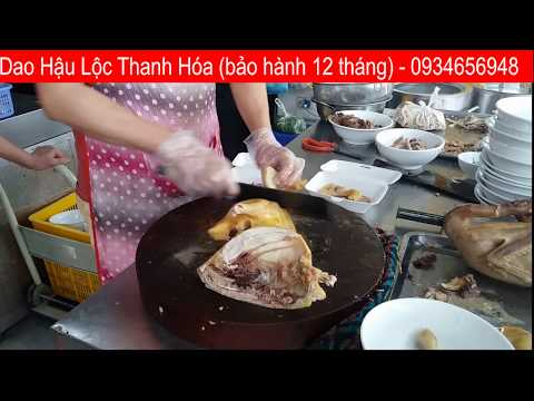 Dao Chặt Gà Vịt - Dao Hậu Lộc Thanh Hóa