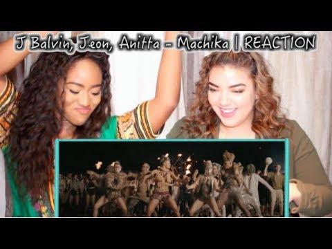 J Balvin, Jeon, Anitta - Machika   REACTION