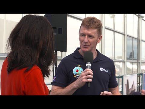 Tim Peake at Futures Day, FIA 2016