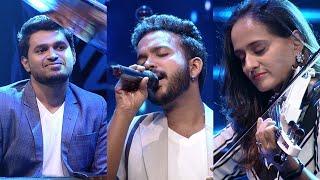 Paadam Namukku Paadam | ''Nee Hima Mazhayayi'' song by K.S. Harisankar | Mazhavil Manorama