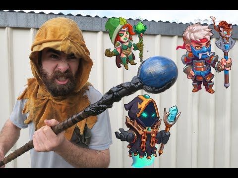 How To Make A Wizard Staff From Scrap - Halloween Costume