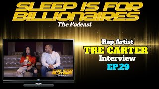 Rapper TRE CARTER talks Alondra Dessy cheating rumors, over coming drug use, and MORE