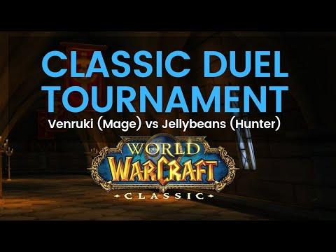 Venruki (Mage) vs Jellybeans (Hunter) Classic Duel Tournament Round 1