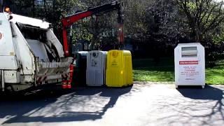 Раздельный сбор мусора в Будапеште(В Будапеште нет помоек. Крупный хлам собирают раз в году,а для остального мусора существуют разные контейне..., 2015-09-16T15:39:47.000Z)