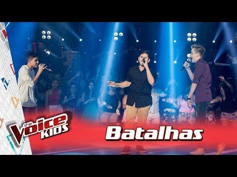 Victor, Luis e Lorenzo cantam 'Louca de Saudade' nas Batalhas – TVK Brasil | 3ª T