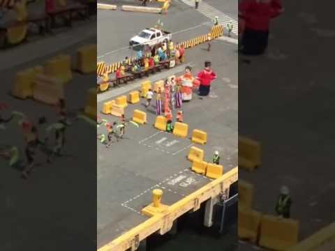 Manila Port Reception