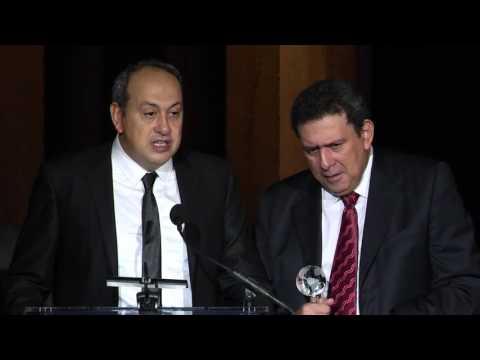 Mithat Bereket Acceptance Speech - 2015 AAM Awards Dinner