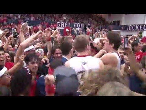 Gaels beat Gonzaga highlights - 1/21/16