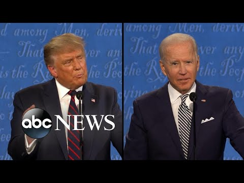 Trump and Biden address the difference they see on how the economy is working