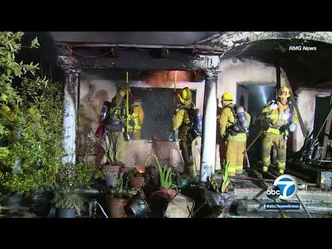 Dog killed in Van Nuys house fire | ABC7