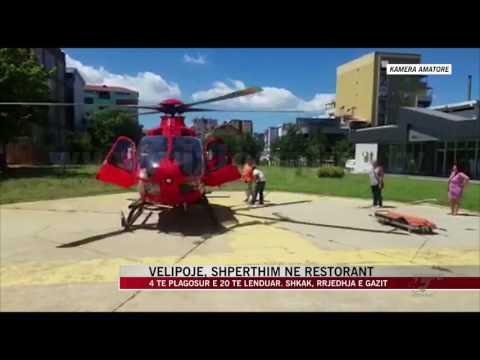 4 të plagosur e 20 të lënduar nga rrjedhja e gazit në Velipojë - News, Lajme - Vizion Plus