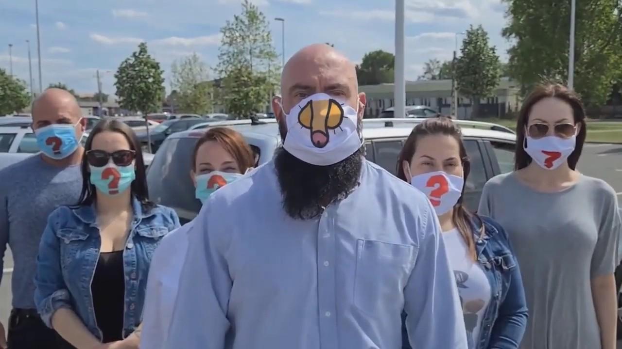 A szélhámos Gödény aki most 5 perc hírnévre vágyik, kapott egy f.szt a  maszkjára | Vadhajtások