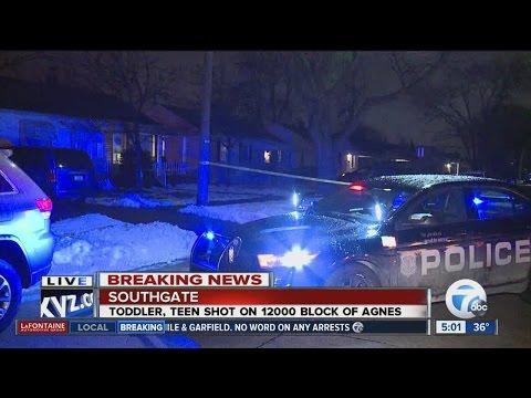 Toddler, teen shot in Southgate