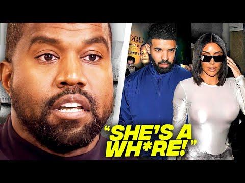 Download Kanye West Reacts To Drake & Kim Kardashian Dating