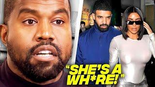Kanye West Reacts To Drake & Kim Kardashian Dating
