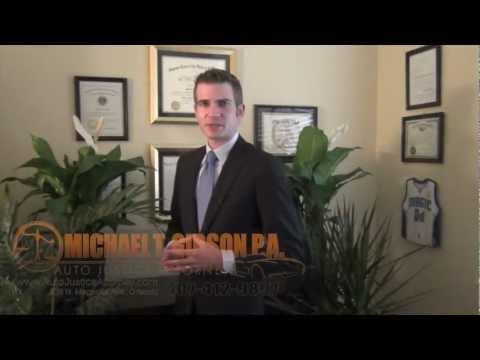 Orlando Florida Motorcycle Attorney Michael T. Gibson