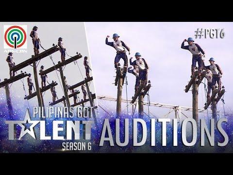 Pilipinas Got Talent 2018 Auditions: Cebeco II Blue Knights - Pole Balancing