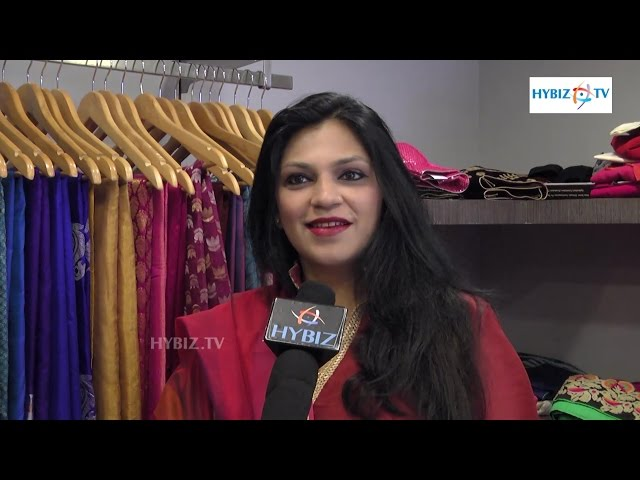 Shivani at Jus BLouses by Varsha Mahendra Hyderabad | hybiz