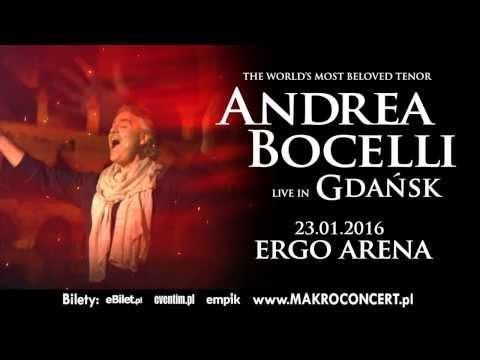 Koncert ANDREA BOCELLI W Gdańsku
