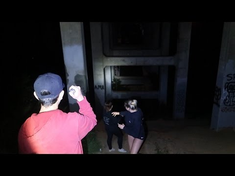 EXPLORING A HAUNTED BRIDGE!! (RISKED OUR LIVES) | FaZe Rug