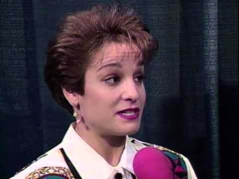 Mary Lou Retton - Interview - 1993 McDonald's American Cup