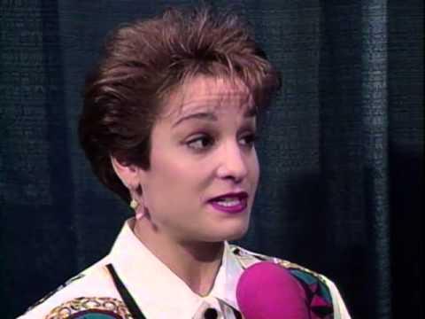 Mary Lou Retton - Interview - 1993 McDonald