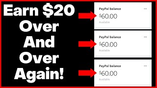 Make $20 Every 10 Minutes Right Now Online! (Very Easy For Beginners!)