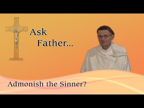 Admonish the Sinner?