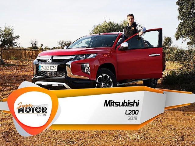 Al volante del Mitsubishi L200 2019 / Prueba / Review / SuperMotorOnline.com