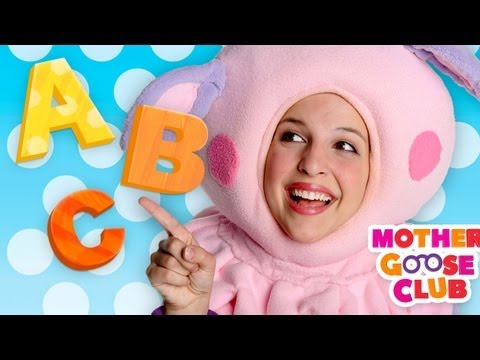 ABC Song  Mother Goose Club Nursery Rhymes